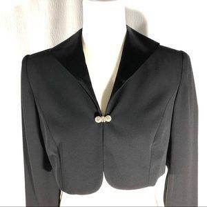 Ann Taylor Petites Black Evening Bolero Jacket